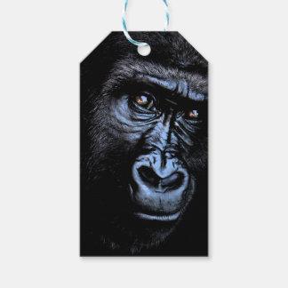 Étiquettes-cadeau Gorille