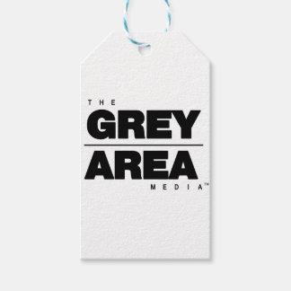 Étiquettes-cadeau Habillement blanc noir de zone grise