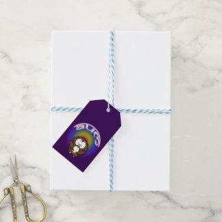 Étiquettes-cadeau hibou de yoga