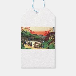 Étiquettes-cadeau Hokusai - art japonais - le Japon