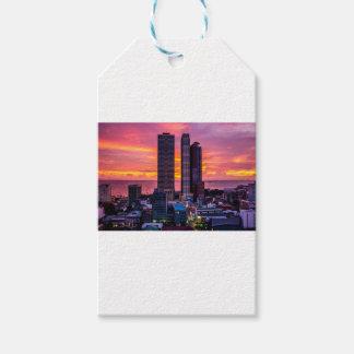 Étiquettes-cadeau Horizon de Manille Philippines