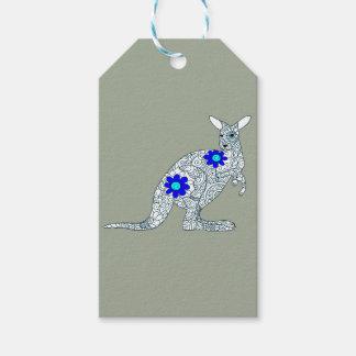 Étiquettes-cadeau Kangourou 3