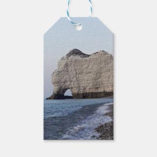 Étiquettes-cadeau La côte aux falaises d'Aval d'Etretat