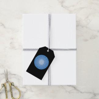 Étiquettes-cadeau La gorge Chakra