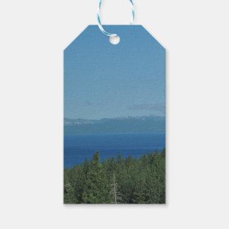 Étiquettes-cadeau Le lac Tahoe