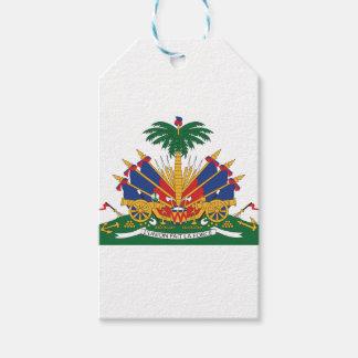 Étiquettes-cadeau Le manteau du Haïti des bras