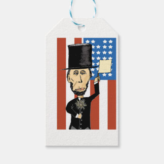 Étiquettes-cadeau Le Président Lincoln Custom Gift Tags