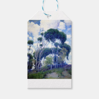 Étiquettes-cadeau Le type s'est levé - eucalyptus de Laguna - chef