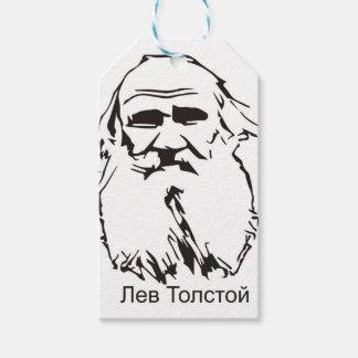Étiquettes-cadeau Léon Tolstoï