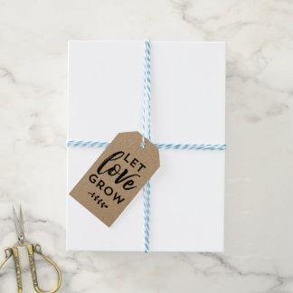 Étiquettes-cadeau L'étiquette   de faveur de mariage a laissé