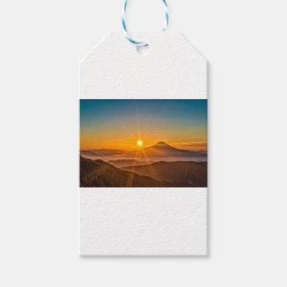 Étiquettes-cadeau Lever de soleil