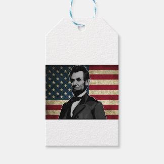 Étiquettes-cadeau Lincoln