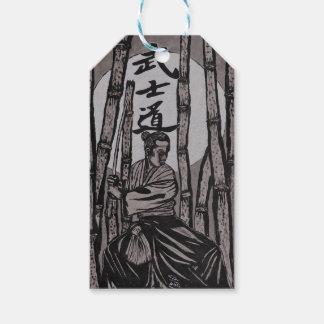 Étiquettes-cadeau Lumière de lune de Bushido