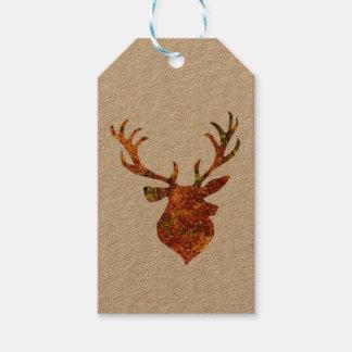 Étiquettes-cadeau Mâle d'automne/hiver
