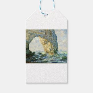Étiquettes-cadeau Manneporte, voûte de roche - Étretat (Normandie) -