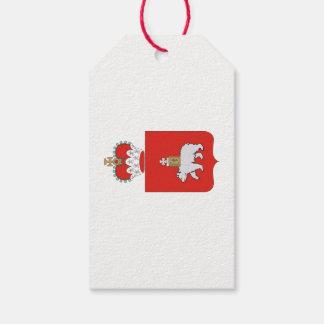 Étiquettes-cadeau Manteau des bras du krai de Perm
