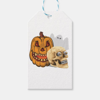 Étiquettes-cadeau Mélange de Halloween