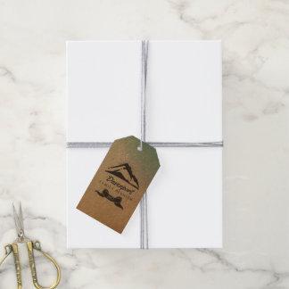 Étiquettes-cadeau Mercis rustiques de la Réunion de famille