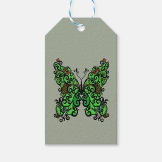 Étiquettes-cadeau Papillon 1
