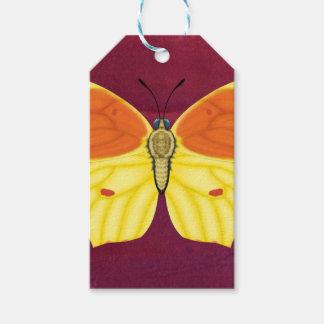 Étiquettes-cadeau Papillon de Cléopâtre