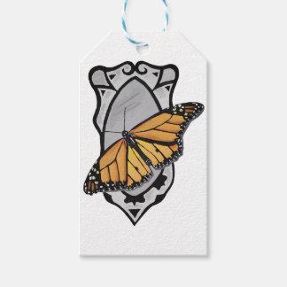 Étiquettes-cadeau Papillon de miroir