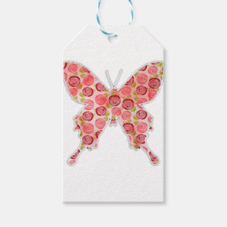 Étiquettes-cadeau papillon vintage