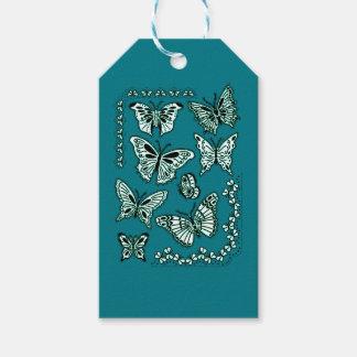 Étiquettes-cadeau Papillons