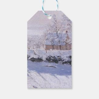 Étiquettes-cadeau Pie de Claude Monet-The