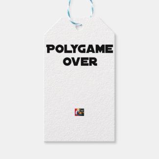 Étiquettes-cadeau POLYGAME OVER - Jeux de mots - Francois Ville