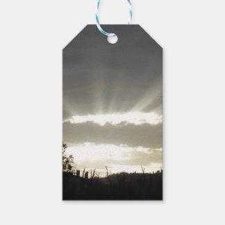 Étiquettes-cadeau Rayons du Sun - partie
