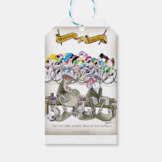 Étiquettes-cadeau Reet de t'aint de Yorkshire d'amour portant les