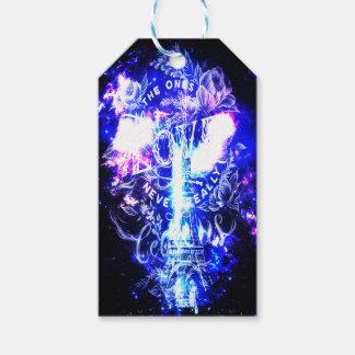Étiquettes-cadeau Rêves parisiens iridescents ceux qui nous aiment