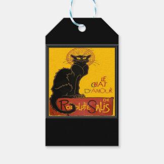 Étiquettes-cadeau Salutation d'amour de Le Chat D'Amour