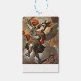 Étiquettes-cadeau St Michael Arkhangel