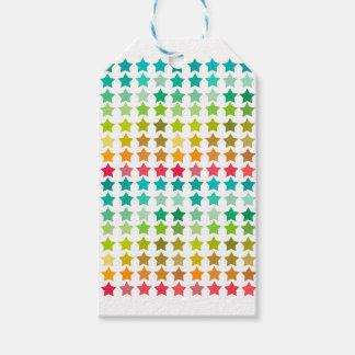 Étiquettes-cadeau Stars