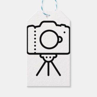 Étiquettes-cadeau Support de trépied d'appareil-photo