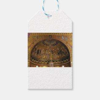 Étiquettes-cadeau Temple de voûte de dôme d'église
