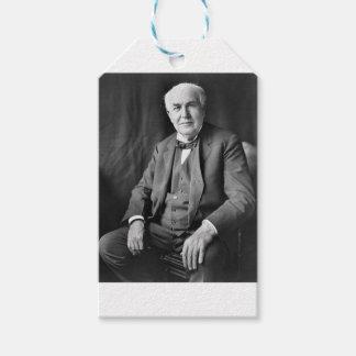 Étiquettes-cadeau Thomas Edison