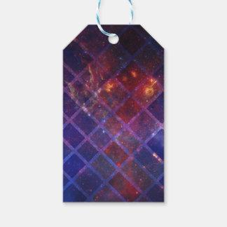 Étiquettes-cadeau Univers de bloc