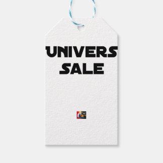 Étiquettes-cadeau UNIVERS SALE - Jeux de mots - Francois Ville
