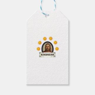 Étiquettes-cadeau voûte du soleil de la gentillesse