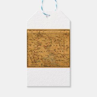 Étiquettes-cadeau yellowstone1915