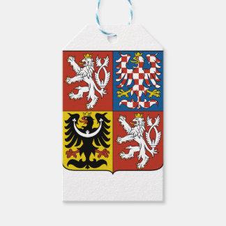 Étiquettes-cadeau Znak České de Státní d'emblème de République