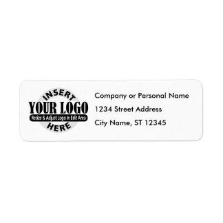 Étiquettes de adresse d'affaires