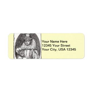 Étiquettes de adresse de Pocahontas