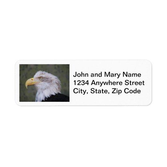 Étiquettes de adresse de retour de photo d'Eagle