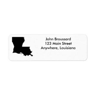 Étiquettes de adresse de retour d'état de la