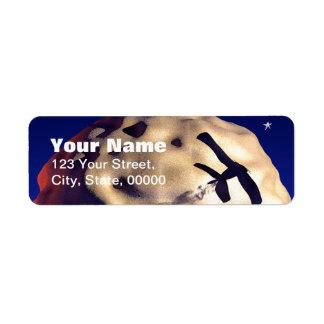 Étiquettes de adresse de retour personnalisables