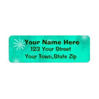 Étiquettes de adresse de retour personnalisés par