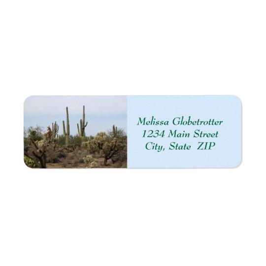 Étiquettes de adresse--Divers cactus